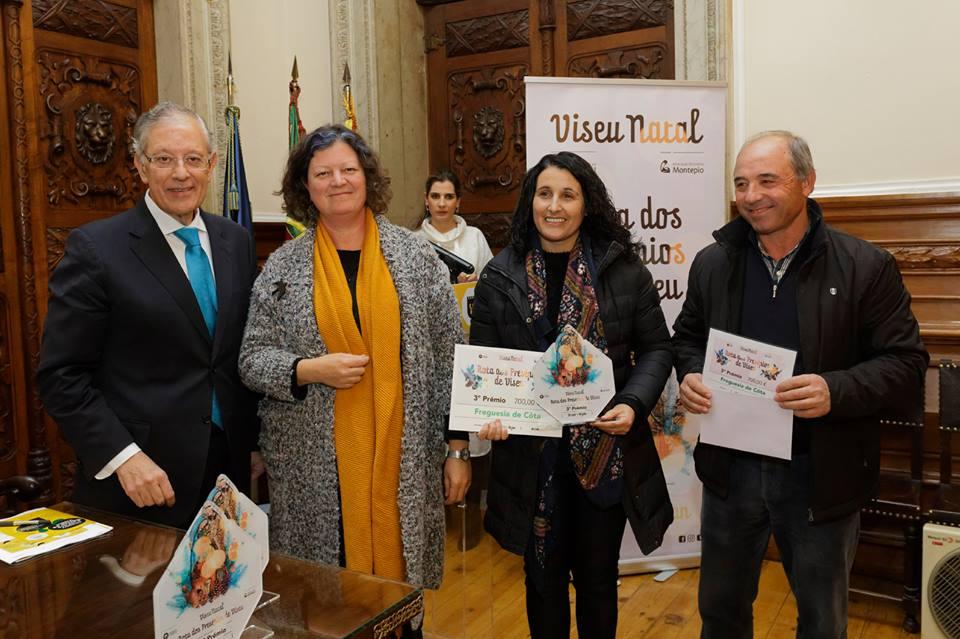 """Vencedores da 2ª edição """"Rota dos Presépios de Viseu"""""""